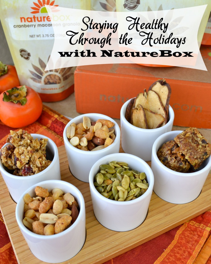 Staying Healthy Through the Holidays with a NatureBox Subscription