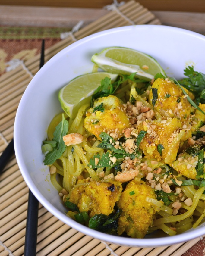 Thai Fish and Noodles