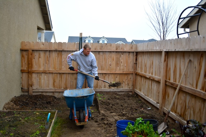 Removing Garden Beds
