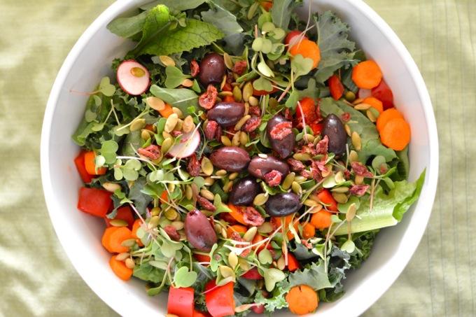 Garden fresh salad