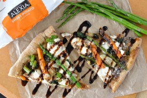 Springtime Sweet Potato Flatbread