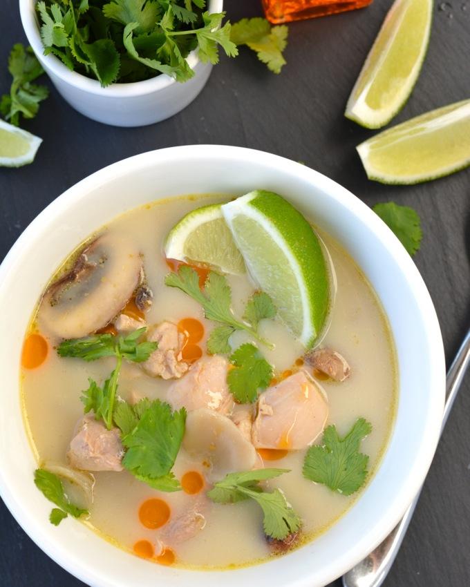 Tom Kha Gai - Thai Coconut Soup