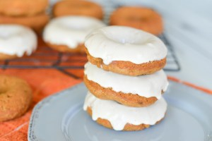 Sweet Potato Donuts with Maple Glaze