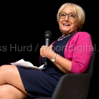 Margaret Hodge MP in conversation with Johnathan Freedland Jewish Labour Movement Conference, North London.