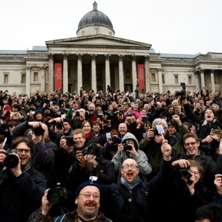 TRAFALGAR SQUARE MASS GATHERING 10TH ANNIVERSARY