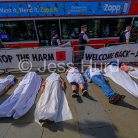 Extinction Rebellion welcome MP's with Die-in