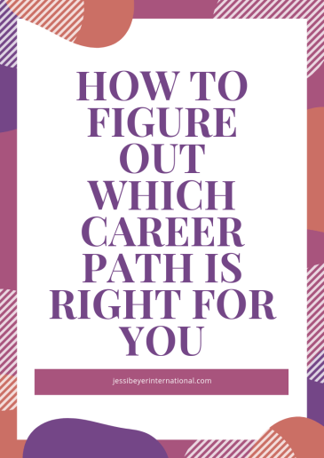 How To Choose The Right Career Path For You Jessi Beyer