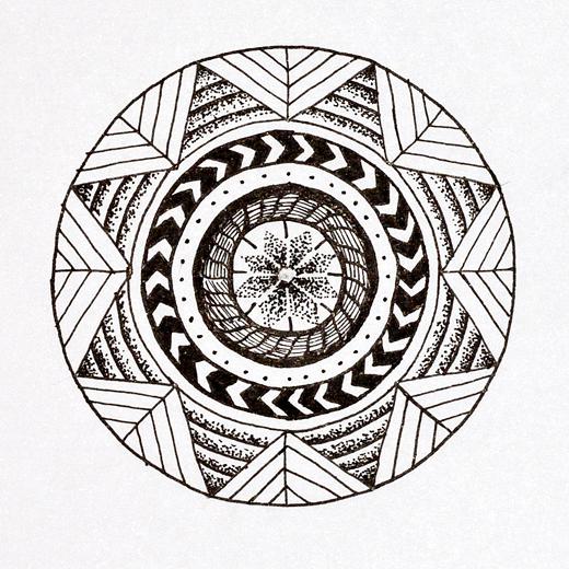 Tintezeichnung Jessica Morfis