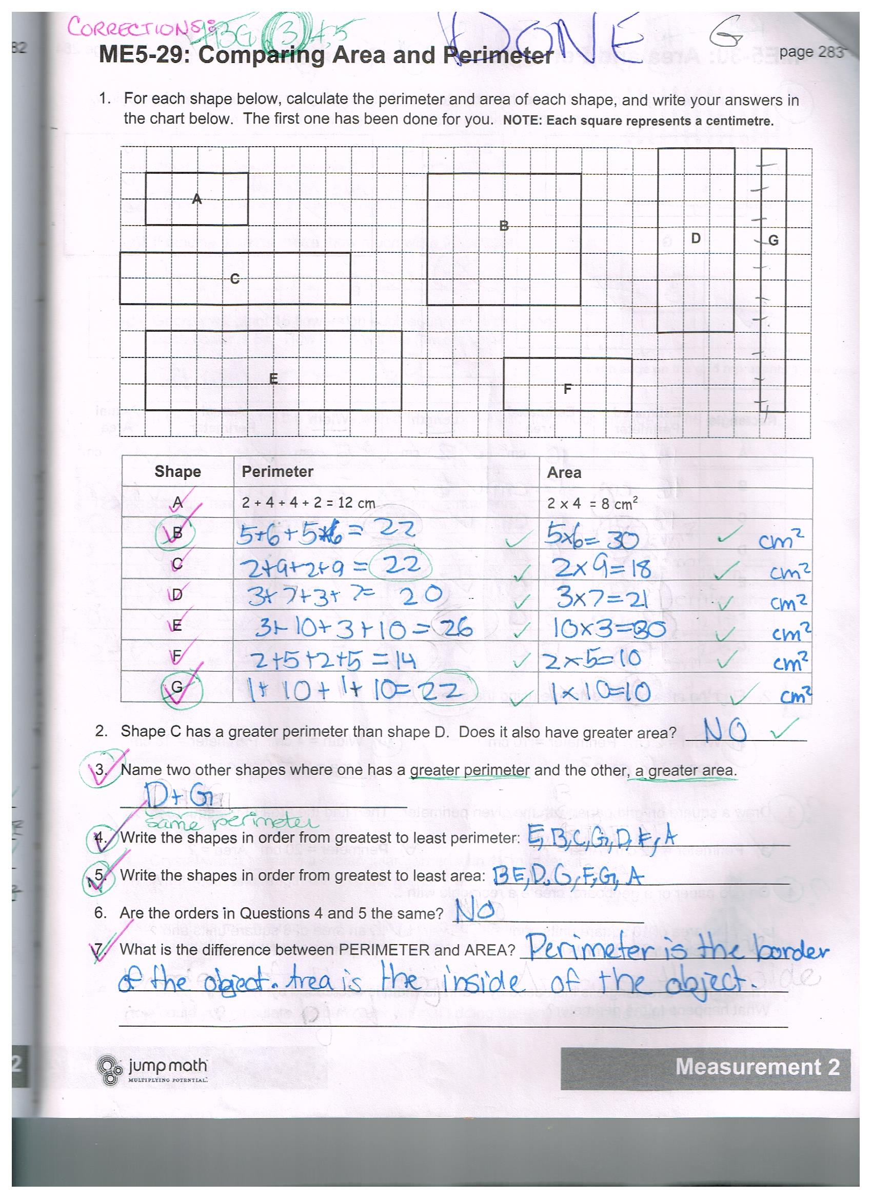 Jump Math 5 2 Sample Work