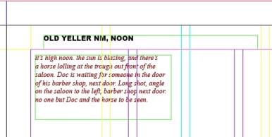 visual scripting scene headers