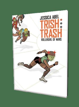 Trish Trash: Rollergirl of Mars book cover