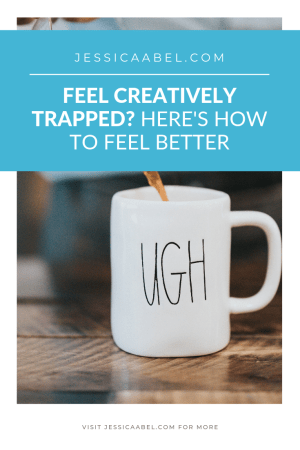 Looking for creative inspiration tips? Feel like you're trapped in your creative life? If you want to feel creative, click through for some great ideas!