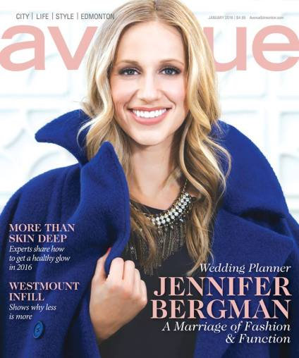 Avenue Magazine Cover Edmonton January 2016