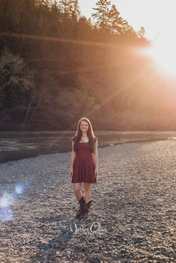High School Senior photographer, Russian River Valley