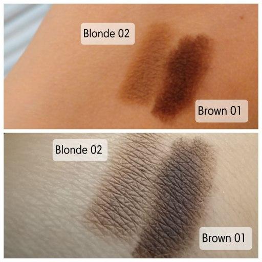 Laveran kulmakynä brown 01 ja blonde 02