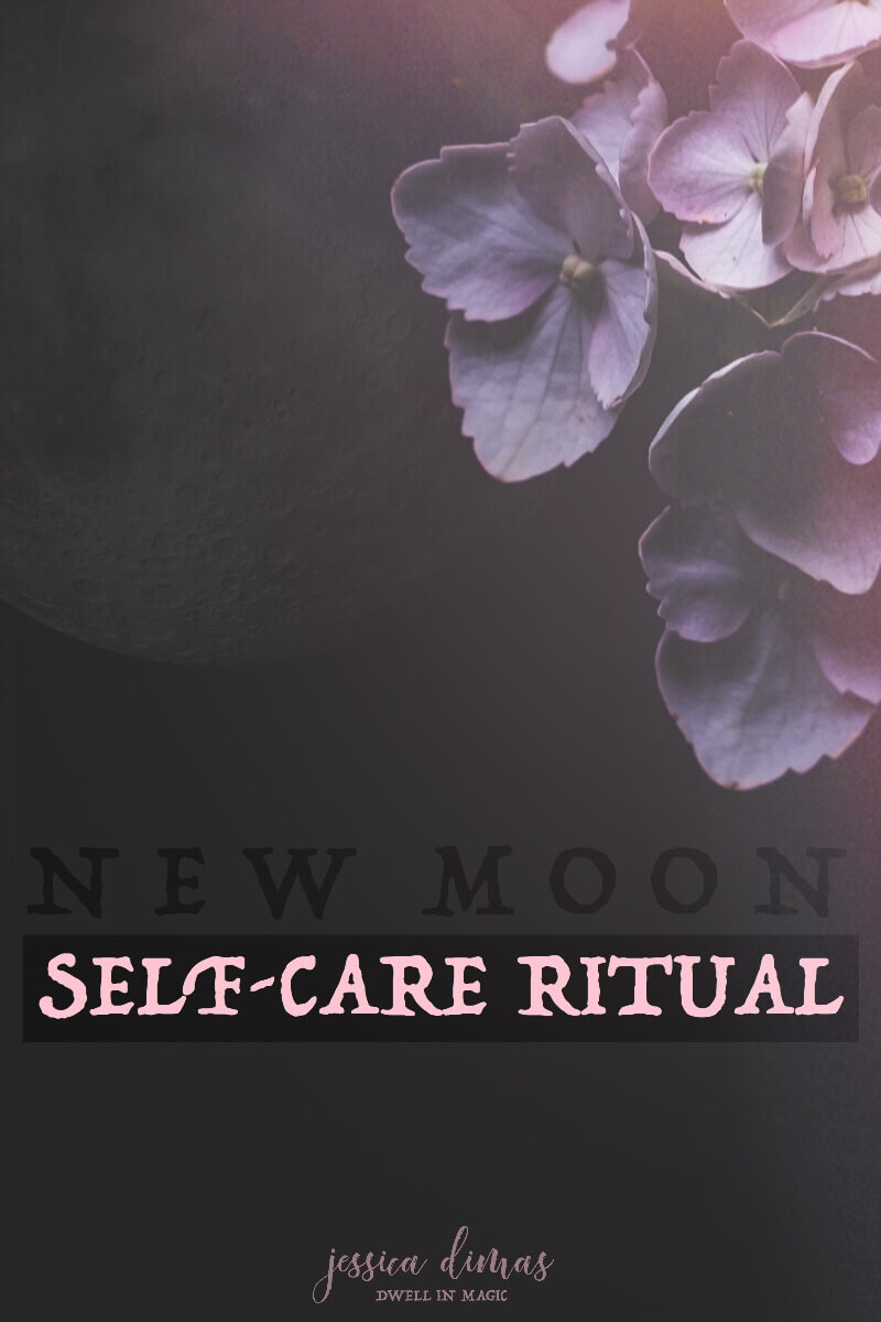 My favorite self-care ritual for setting new intentions with the moon. #newmoon #selfcaretips #selfcareritual #newmoonritual #selfcareblogger