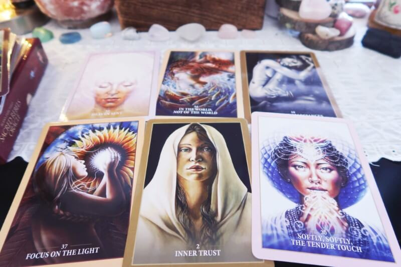 A list of my favorite oracle decks #witchythings #oracledecks #sacredselfcare #dwellinmagic