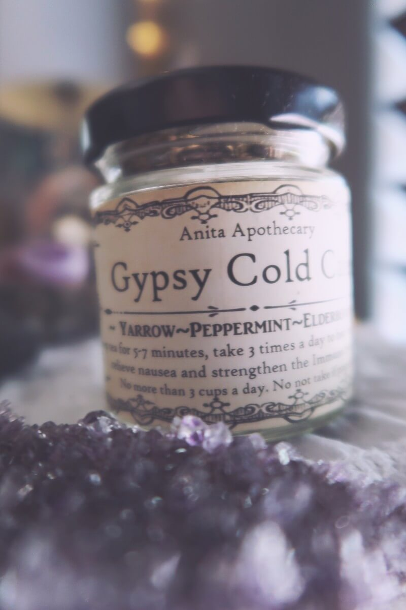 Everything we received in the Gypsy Magick box from Anita Apothecary #witchybox #subscription box #witchythings #witchcraft #wiccan #witchywoman