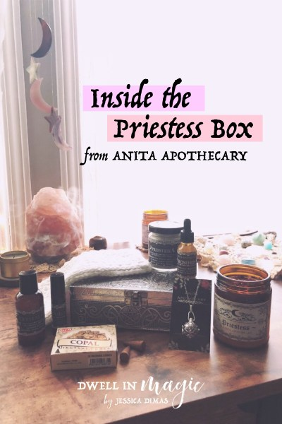 Anita Apothecary Subscription Box Review – The Priestess Box