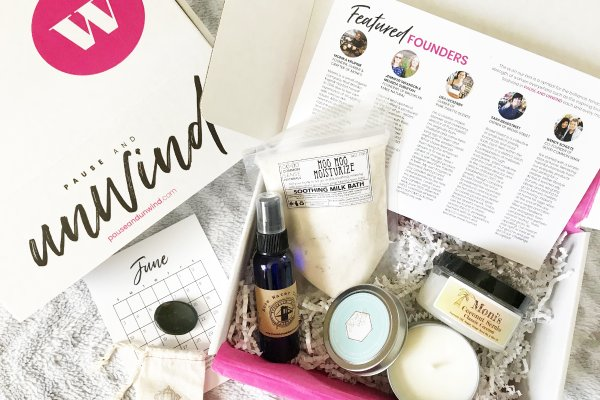 Unwind self-care subscription boxes