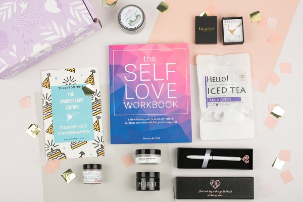 Therabox self-care subscription box