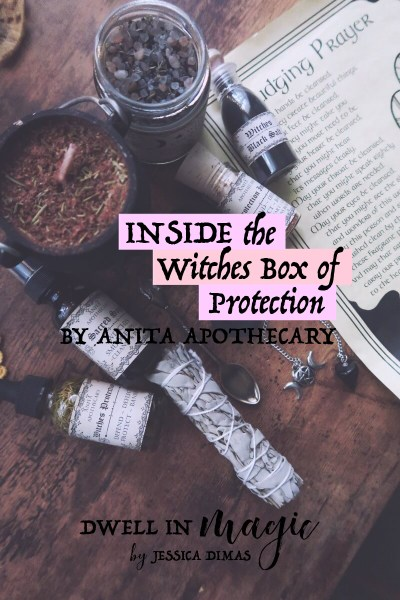 The Witches Box of Protection by Anita Apothecary