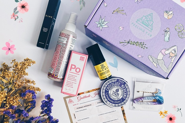 feeling fab self care box
