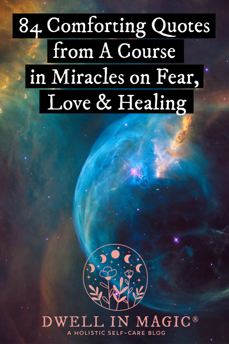 Miracles Quotes : miracles, quotes, Comforting, Quotes, Course, Miracles, Fear,, Healing