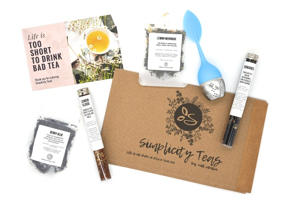 Simplicity Tea Subscription box