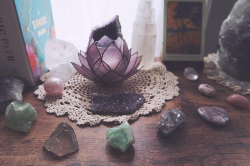 Healing crystals make wonderful gifts for spiritual people