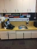 Pre-Internship Cleaning Area