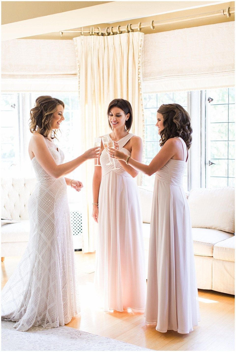ivory bridesmaid dresses   Navy and Gold Wedding at Laurel Hall with Ivan & Louise Photography + Jessica Dum Wedding Coordination