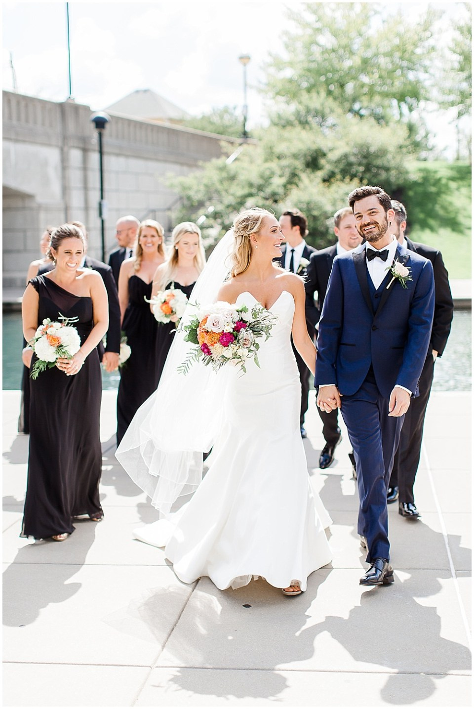 Bridal party portraits | Canal 337 wedding by Jenny Haas Photography & Jessica Dum Wedding Coordination