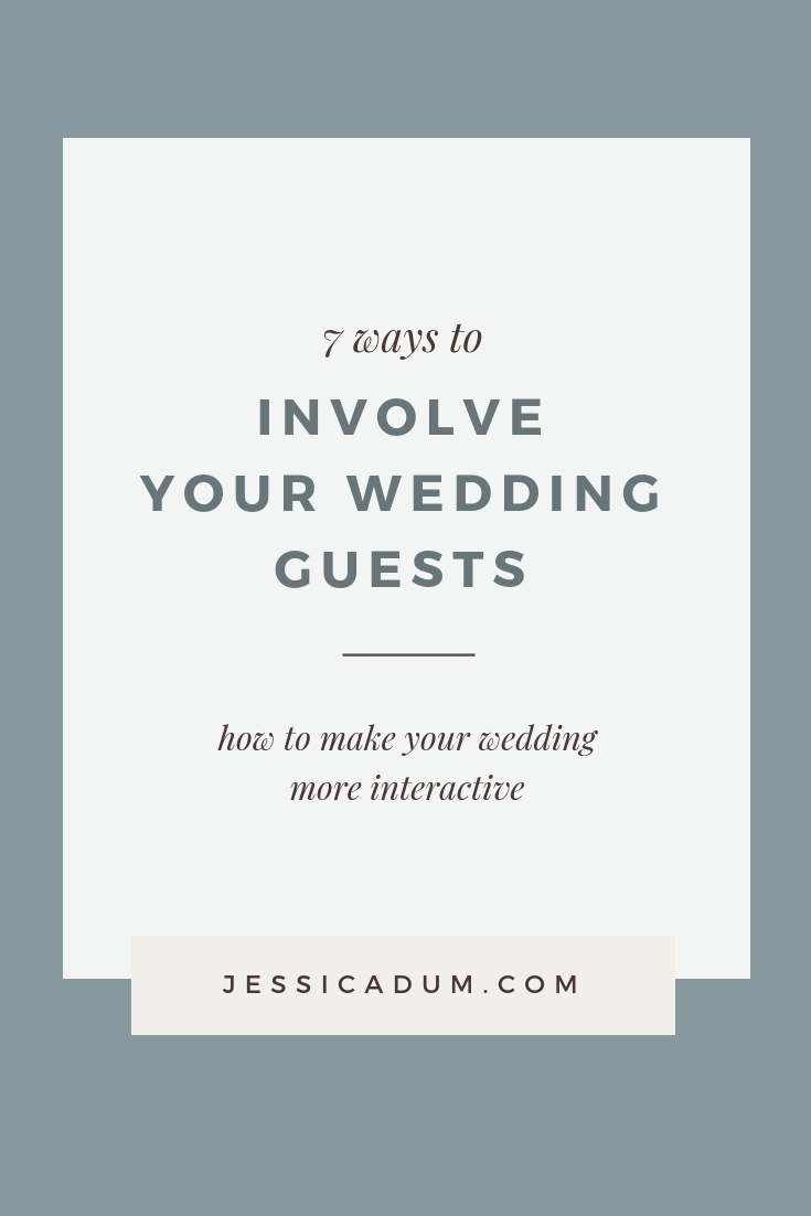 fa400ccd14c 7 Ways to make your wedding more interactive - How to involve your wedding  guests and ...