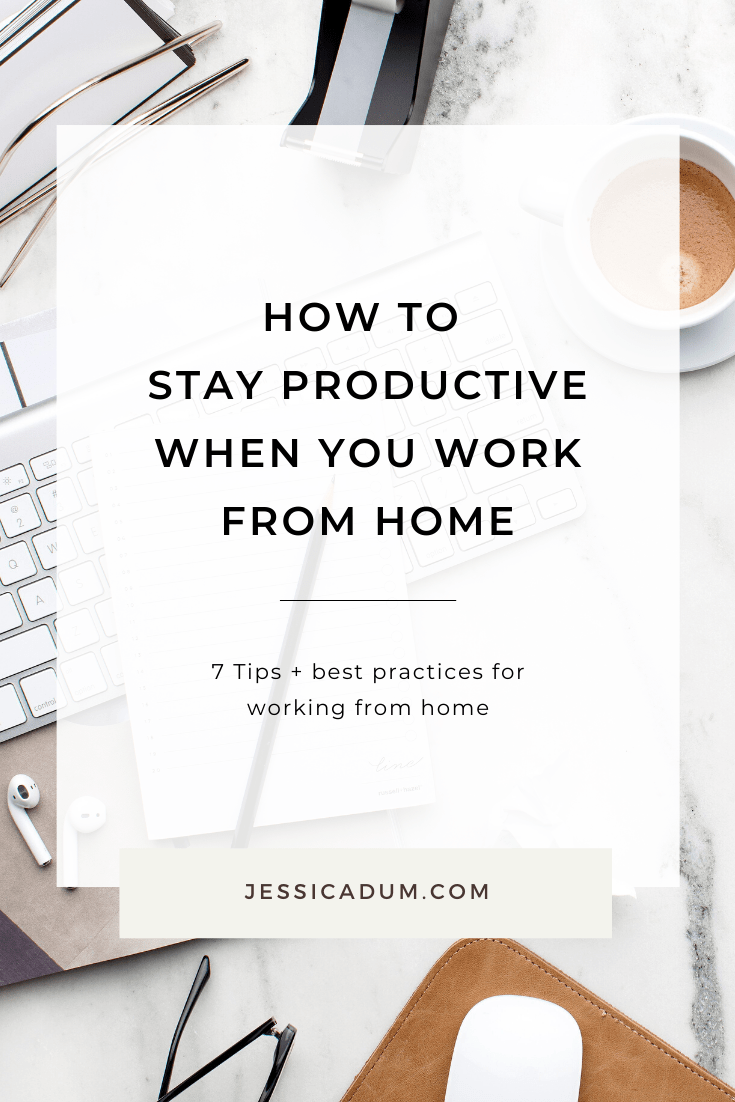 As a seasoned work from home mom of 2, I've learned a thing or two about what works and what doesn't work when it comes to setting boundaries and sticking to your goals while working from home. On the blog, we're sharing 7 tips and best practices for keeping yourself motivated and productive for those who may be new to working from home or just need more structure in your day.