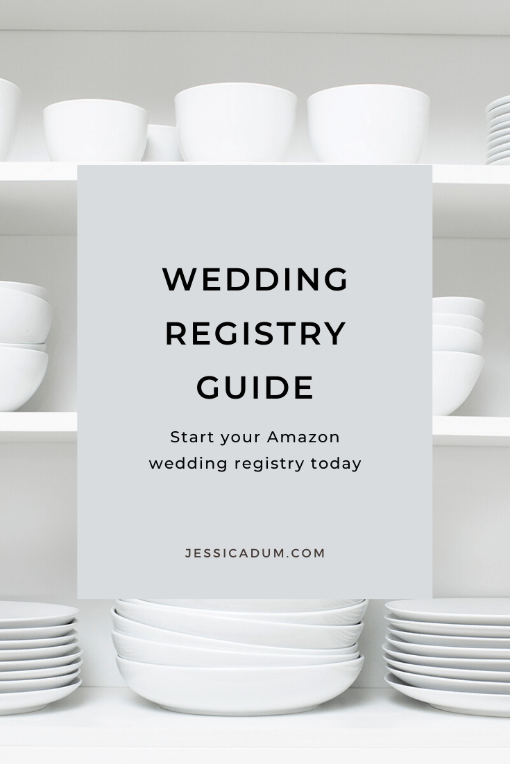 Create your Amazon wedding registry with our guide for new bride's! Plus, we're sharing 60 of our must-have wedding registry items you need for your new home and life together!