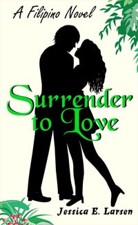 Book Cover: Surrender to Love (Filipino Novel)
