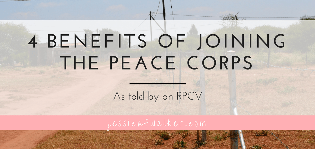 4 Benefits of Joining the Peace Corps