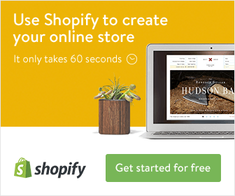 Sign up for your own shopify store