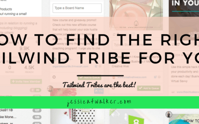 How to find the right Tailwind Tribes for you