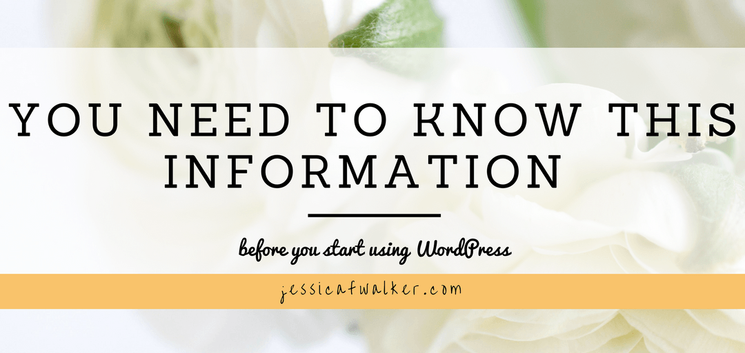 What You Need to Know About WordPress Before Starting Your Online Business