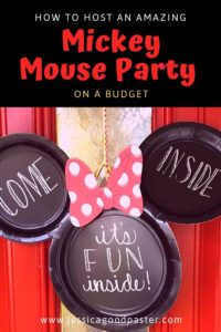 How To Host An Amazing Mickey Mouse Party On A Budget Jessicagoodpaster Com