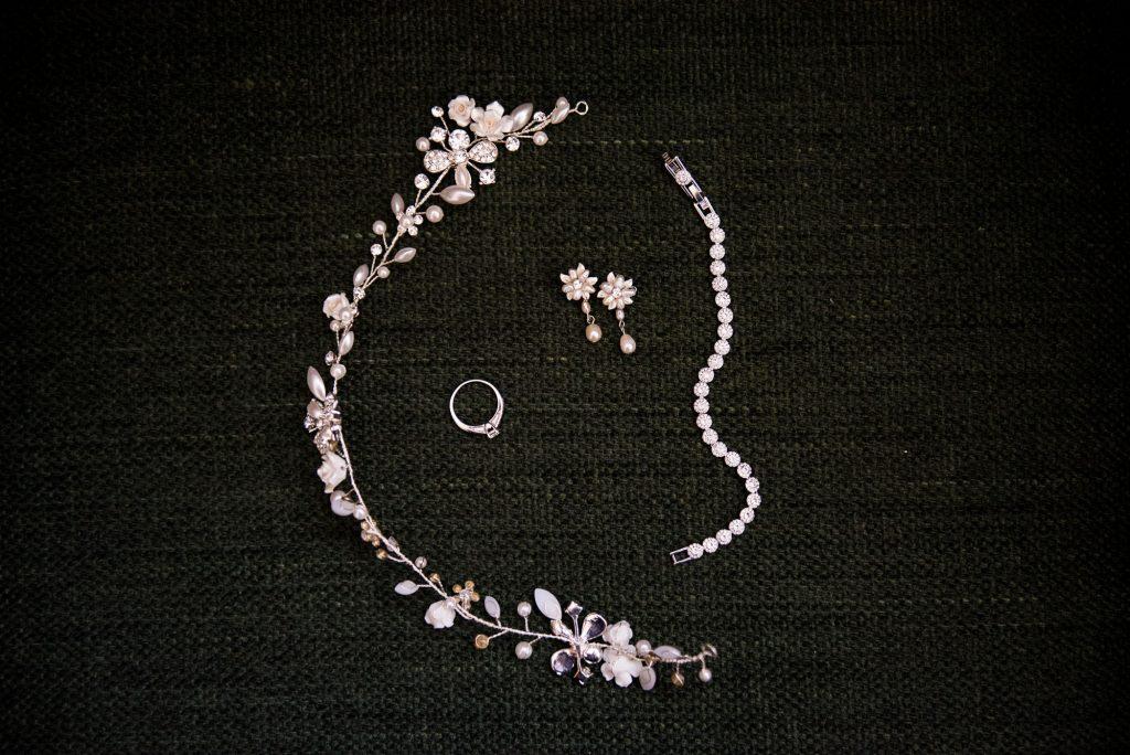 Bridal jewellery pre wedding photography