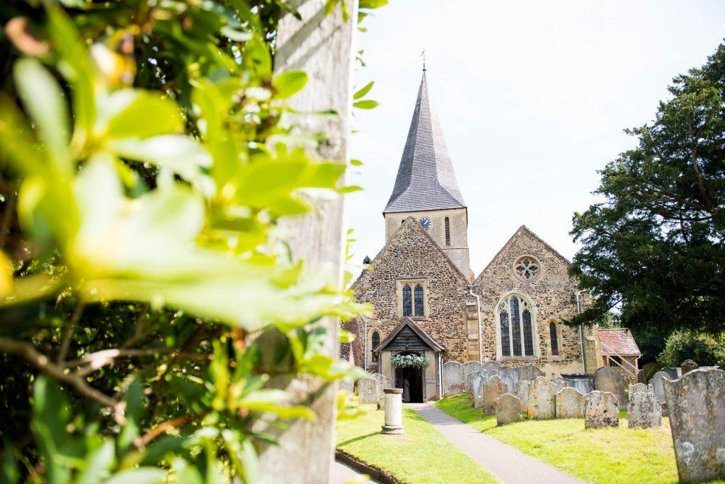 Church wedding Surrey