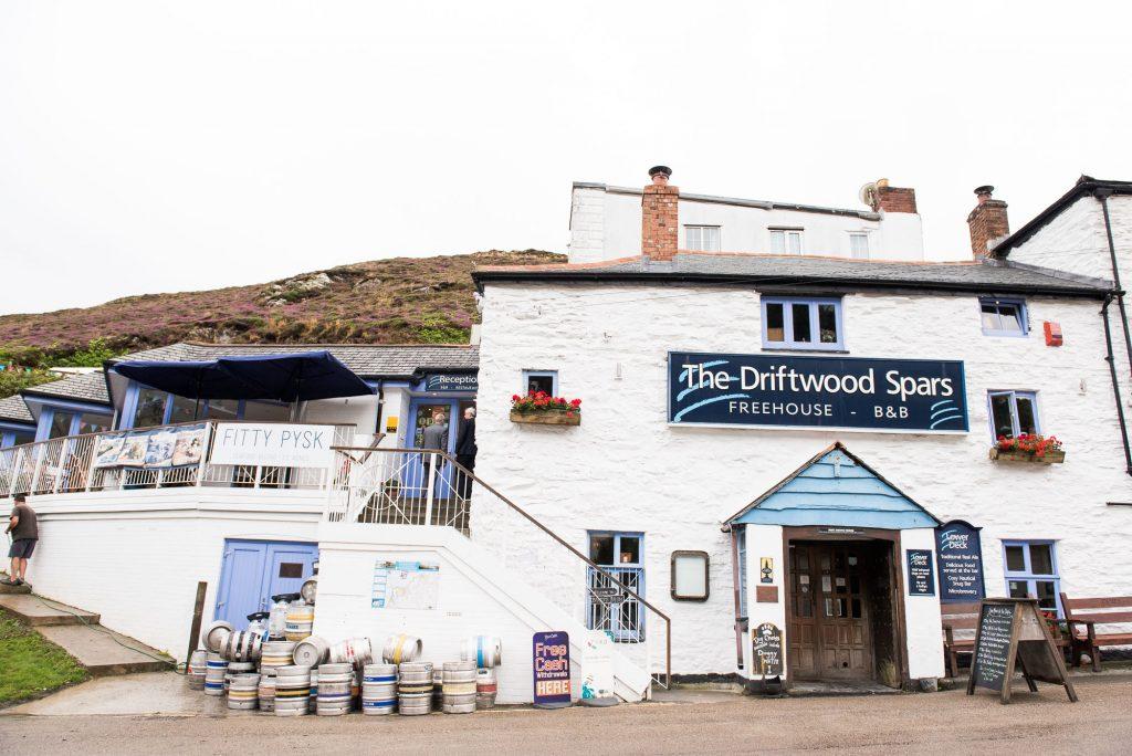 The Driftwood Spars pub Cornwall