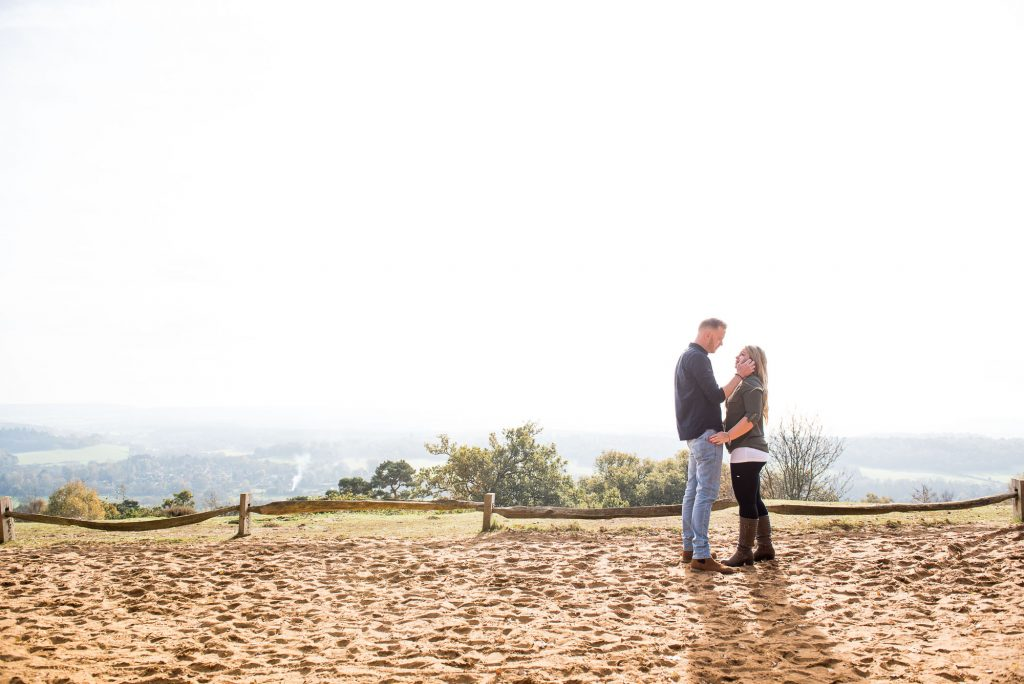 Engagement portrait photography Surrey