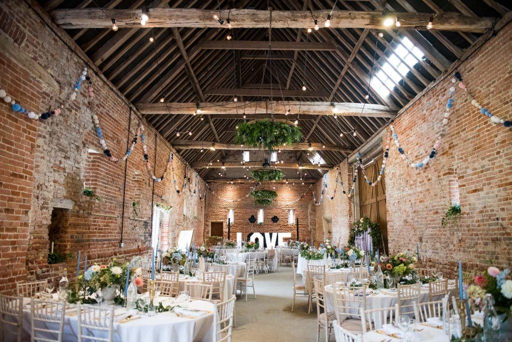 Spixworth Hall Barn Norfolk barn wedding