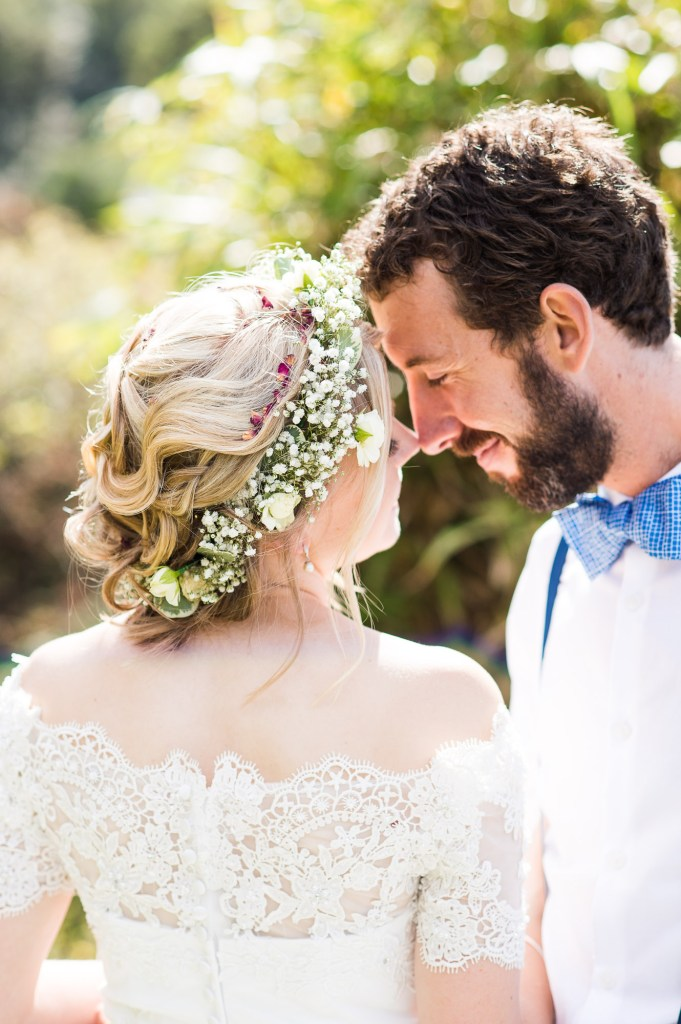 Natural wedding portrait Driftwood Spars Wedding