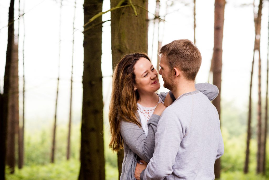 Happy engagement photography Surrey