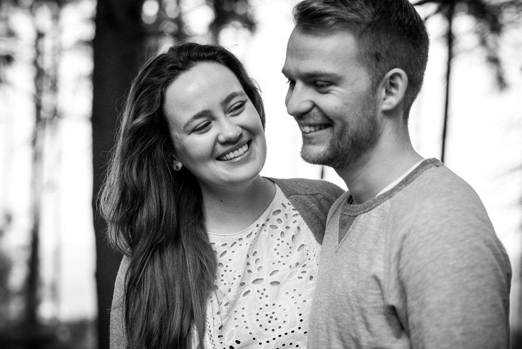 Relaxed engagement photography Surrey